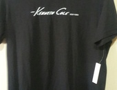 Men's Black Kenneth Cole T-Shirt Large