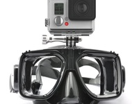 Snorkeling/Diving Mask with GoPro Mount and Case - CAMERA NOT INCLUDED