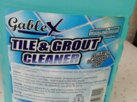 Three Gallons Gable X Tile And Grout Cleaner -Everything Must Go