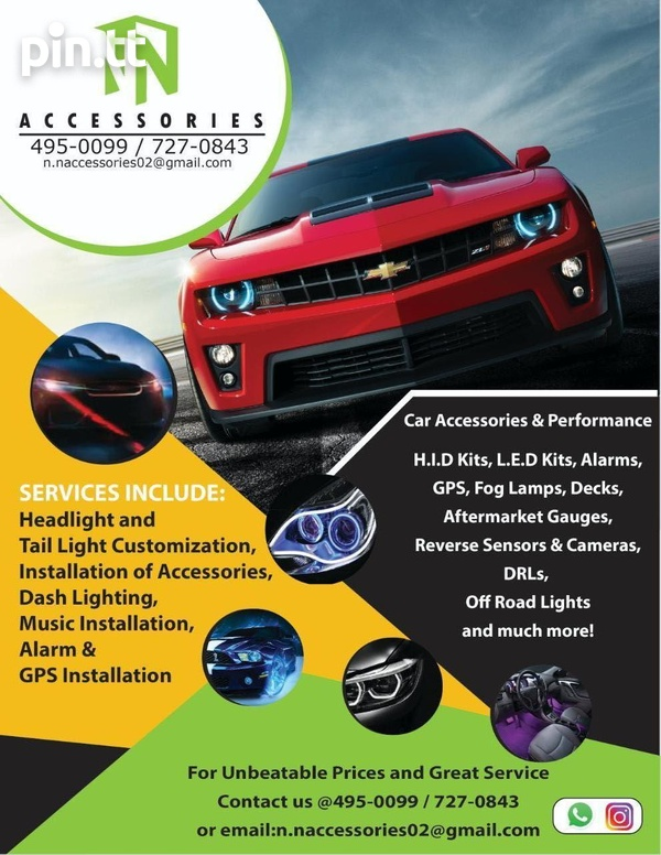 N and N Accessories all lighting and accessories for vehicles-1
