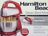 Hamilton Beach cake mixer - new