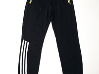 Black Striped Long Joggers