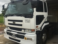 Nissan single axel tractor truck, TBD