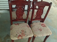 Dining chair set ONLY