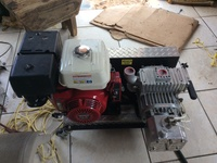 BARGAIN VACUUM PUMP NEW NEVER STARTED