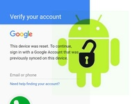 Remove Google Lock