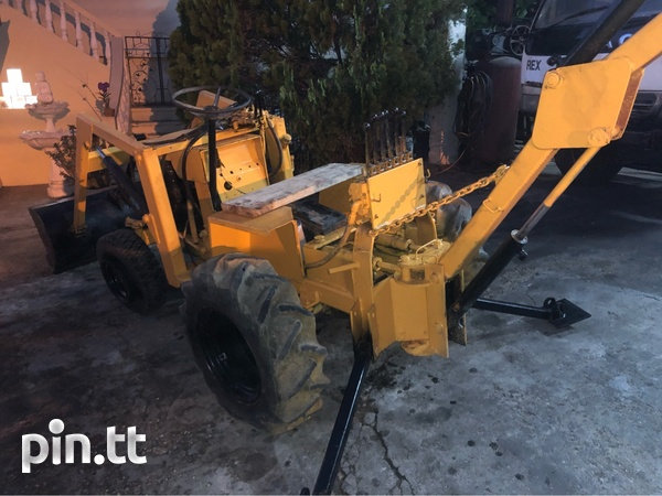 Mini Backhoe-4