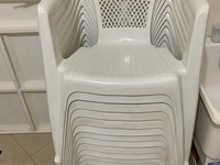 Plastic Chairs In Good Condition