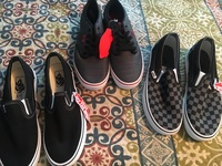 Vans original size9 and 10