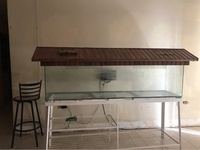 Large Fish Tank With Stand And Cover