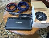 ROCKFORD AMP / SPEAKER WITH BOX