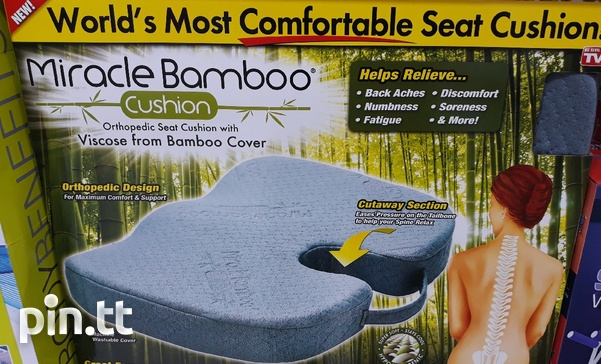 Seating cushion for back pain and spine injuries