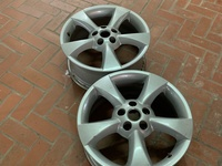 4 pcs 5 hole 17inch rims