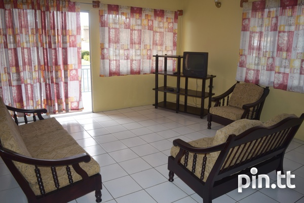Couva 2 bedroom furnished apartment-1