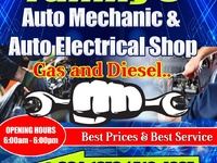 Family garage, better service and better prices at your disposal.