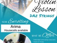 Violin and Viola Lessons
