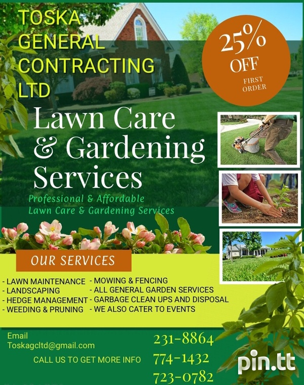 Landscaping and General Maintenance