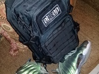 Nike Foamposite and Tactical bag