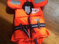 Life jacket up to 33 lbs
