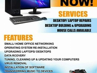 Laptop/Desktop Repair Service