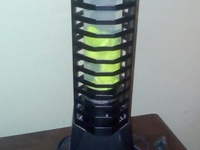 Lava Lamp Also CD Rack