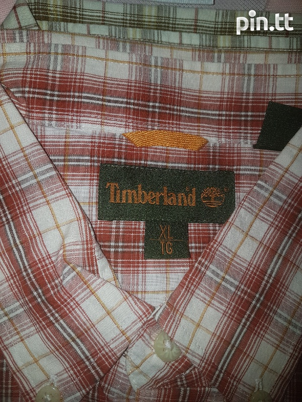 Original Timberland shirt men xl-3
