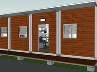 THREE-BEDROOM CONTAINER HOMES