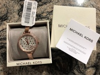 Ladies MK watch rose gold