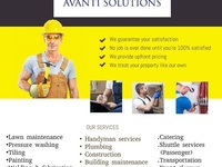 All home maintenance and building services