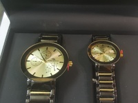 Male and female watch gift set