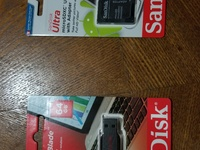 Memory cards and flash drives