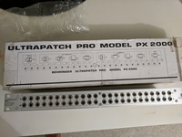 Behringer Ultrapatch Pro PX2000 48-point patch bay