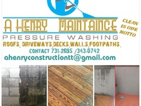 power washing services and building maintenance