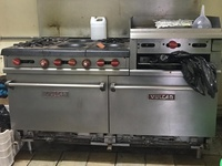 Vulcan commercial stove