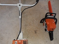 Stihl wacker and Stihl chainsaw