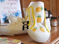Pineapple Shoes Hand Crafted