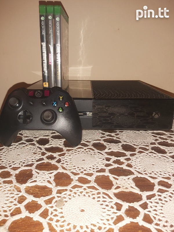 xbox one with 3 awsome games-4
