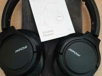 H7 Bluetooth/Wired Headphones With Microphone and Soft Protein Pads