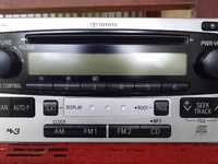 OEM Toyota MP3 Deck