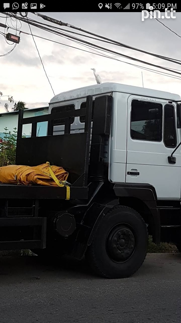 TRANSPORT- 10 Ton Flat Bed Truck For Hire-Chaguanas-3