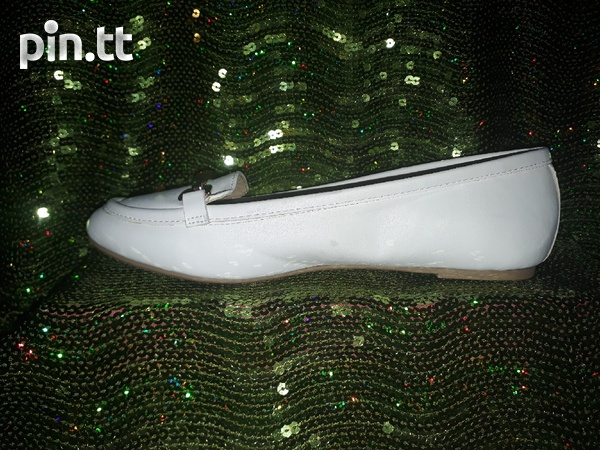 White Loafers for ladies-3