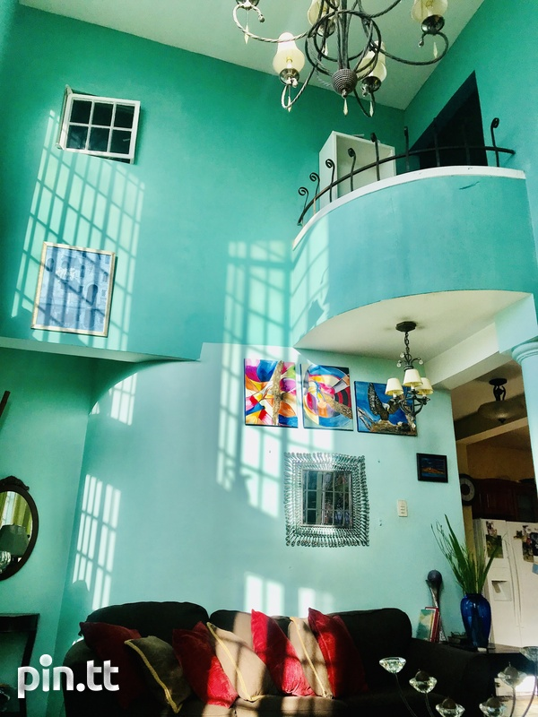 Lovely 4 bedrooms House in vicinity of Queens Park Savannah, POS-5