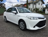 Toyota Axio, 2017, Roll On Roll Off Imported