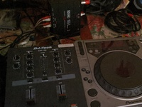 DJ mixer sl1 box side a player