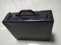 Solid metal drill case