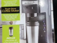 Brentwood Single Serve Coffee Maker