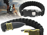 WEREWOLVES Paracord Blade Bracelet Paraclaw Knife Bracelet Survival Co