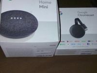 google chromecast 3rd gen and google home mini