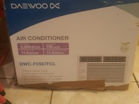 BRAND NEW IN BOX DAEWOO WINDOW AC UNIT