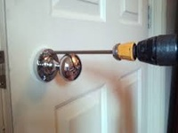 Lock Installation Service wooden doors only